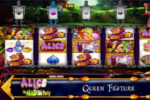 alice mad tea party slot