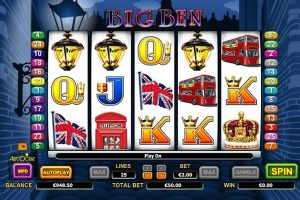 big ben slot machine