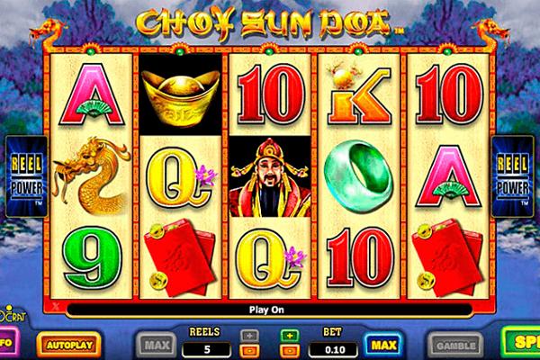 choy sun doa slot machine