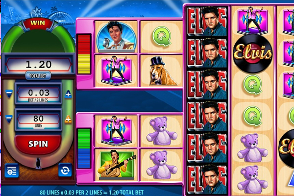 elvis the king slot machine