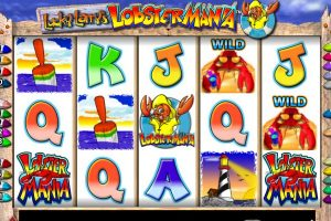 lobstermania slot machine