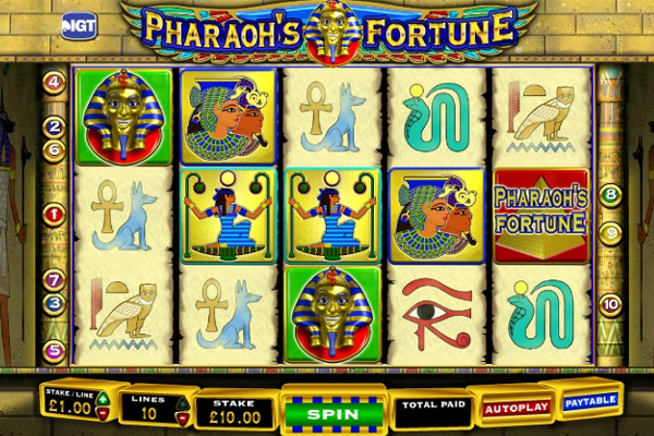pharoahs fortune slot machine