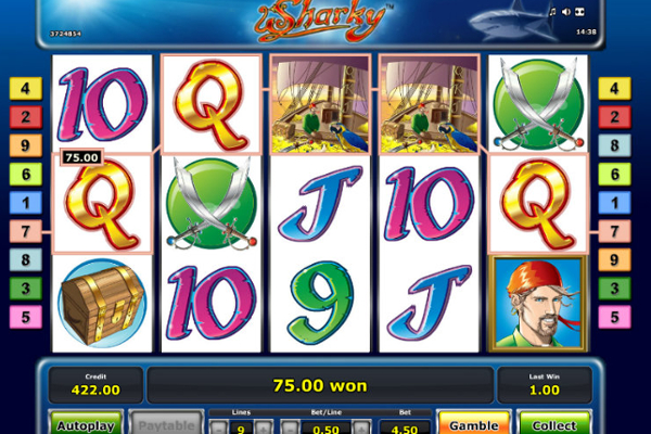 slot machine online sharky slot