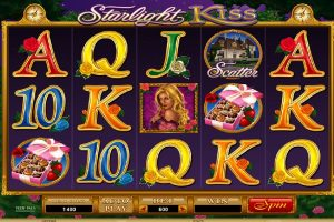 starlight kiss slot machine