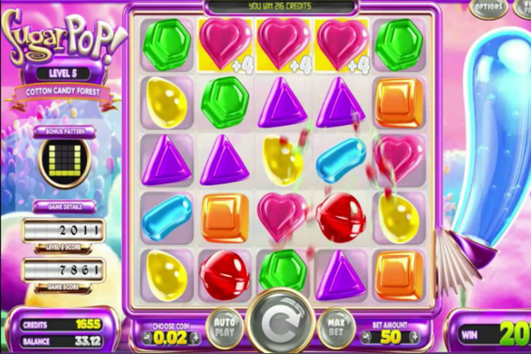 sugar pop slot machine