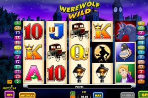 werewold wild slot machine