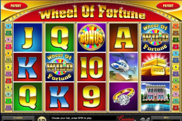 wheel fortune slot machine