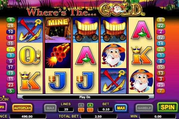 wheres the gold slot machine