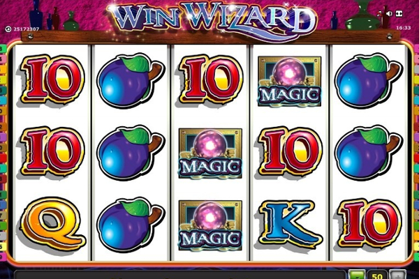 slot machines online wizards win